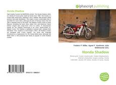 Bookcover of Honda Shadow