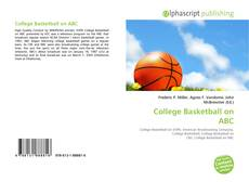 Bookcover of College Basketball on ABC