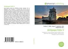 Antipope Felix V kitap kapağı