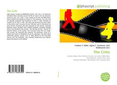 Bookcover of The Critic