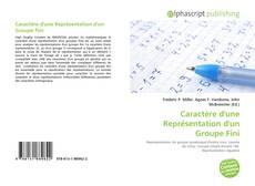 Capa do livro de Caractère d'une Représentation d'un Groupe Fini