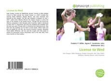 Bookcover of License to Wed