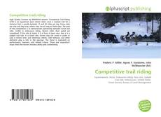 Bookcover of Competitive trail riding