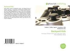 Bookcover of Backyard Kids