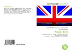 Bookcover of Alistair Burt