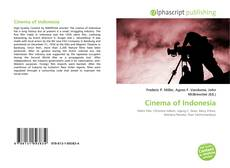 Bookcover of Cinema of Indonesia