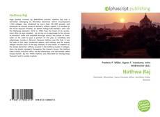 Capa do livro de Hathwa Raj
