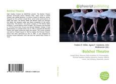 Copertina di Bolshoi Theatre