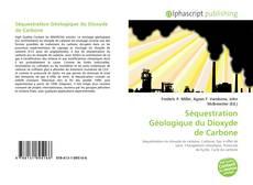 Couverture de Séquestration Géologique du Dioxyde de Carbone