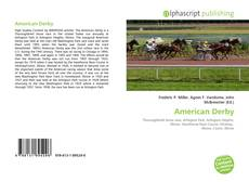 American Derby kitap kapağı