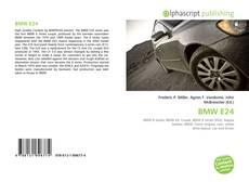 BMW E24的封面