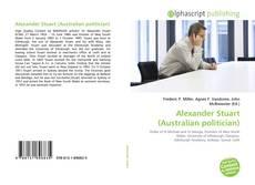 Alexander Stuart (Australian politician) kitap kapağı