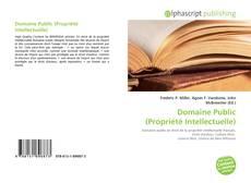 Copertina di Domaine Public (Propriété Intellectuelle)