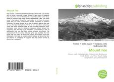 Mount Fee kitap kapağı