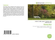Bookcover of Matej Bor