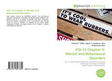 Bookcover of ICD-10 Chapter V: Mental and Behavioural Disorders