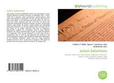 Bookcover of Julian Salomons