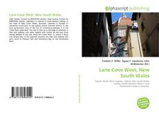 Bookcover of Lane Cove West, New South Wales