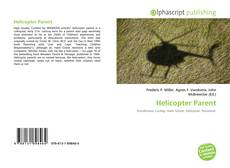 Bookcover of Helicopter Parent