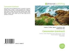 Bookcover of Concession (contract)