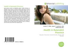 Bookcover of Health in Ratanakiri Province