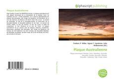 Bookcover of Plaque Australienne