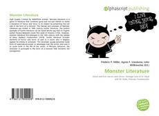 Portada del libro de Monster Literature