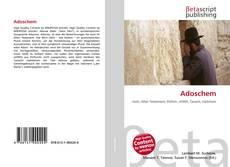 Capa do livro de Adoschem