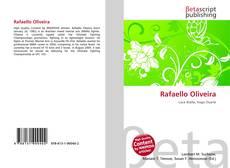 Capa do livro de Rafaello Oliveira