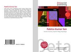 Portada del libro de Pabitra Kumar Sen