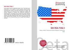 Borítókép a  NH RSA Title I - hoz