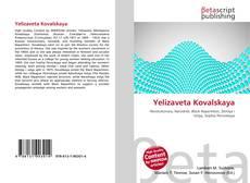 Portada del libro de Yelizaveta Kovalskaya