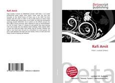 Rafi Amit kitap kapağı