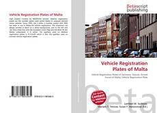 Buchcover von Vehicle Registration Plates of Malta
