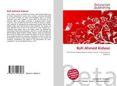 Bookcover of Rafi Ahmed Kidwai
