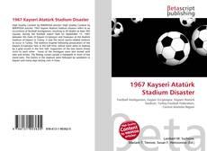1967 Kayseri Atatürk Stadium Disaster kitap kapağı