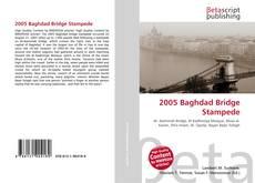 Capa do livro de 2005 Baghdad Bridge Stampede