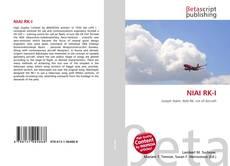 Bookcover of NIAI RK-I