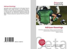 Bookcover of Adriaan Koonings