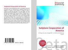 Bookcover of Sailplane Corporation of America