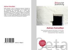 Bookcover of Adrien Fainsilber