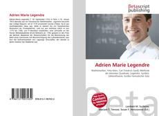 Bookcover of Adrien Marie Legendre