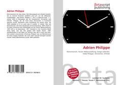 Обложка Adrien Philippe