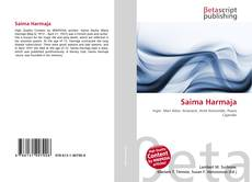 Bookcover of Saima Harmaja