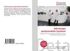 Adrenerges postprandiale Syndrom kitap kapağı
