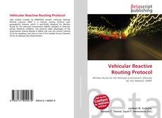 Vehicular Reactive Routing Protocol kitap kapağı