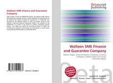 Bookcover of Walloon SME Finance and Guarantee Company
