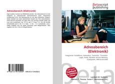 Adressbereich (Elektronik) kitap kapağı