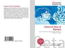 Buchcover von Statue of Zeus at Olympia