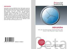 Portada del libro de Adriahöhe